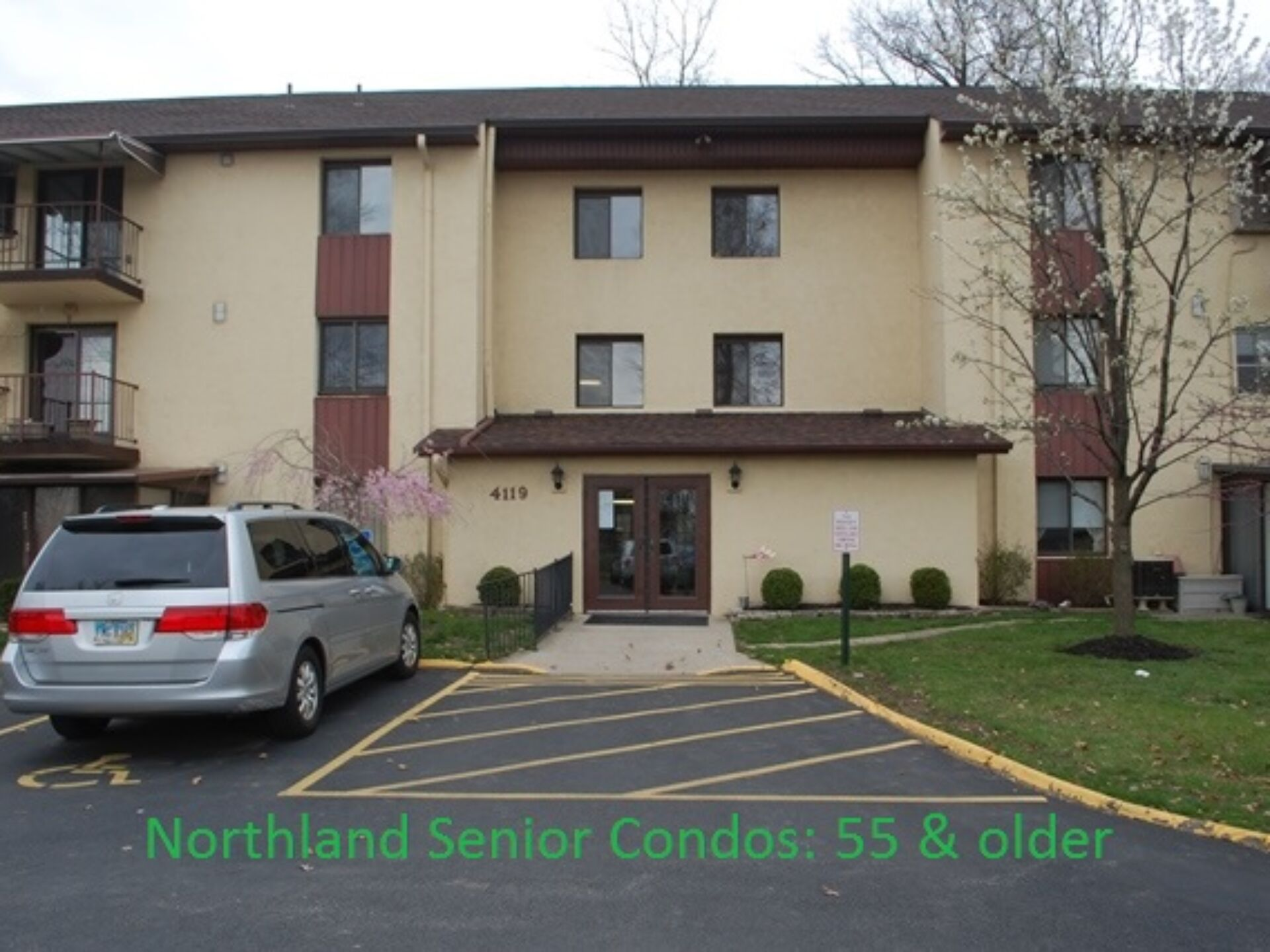 Quiet Living 55 & older 2-bedroom 1-bath Condo