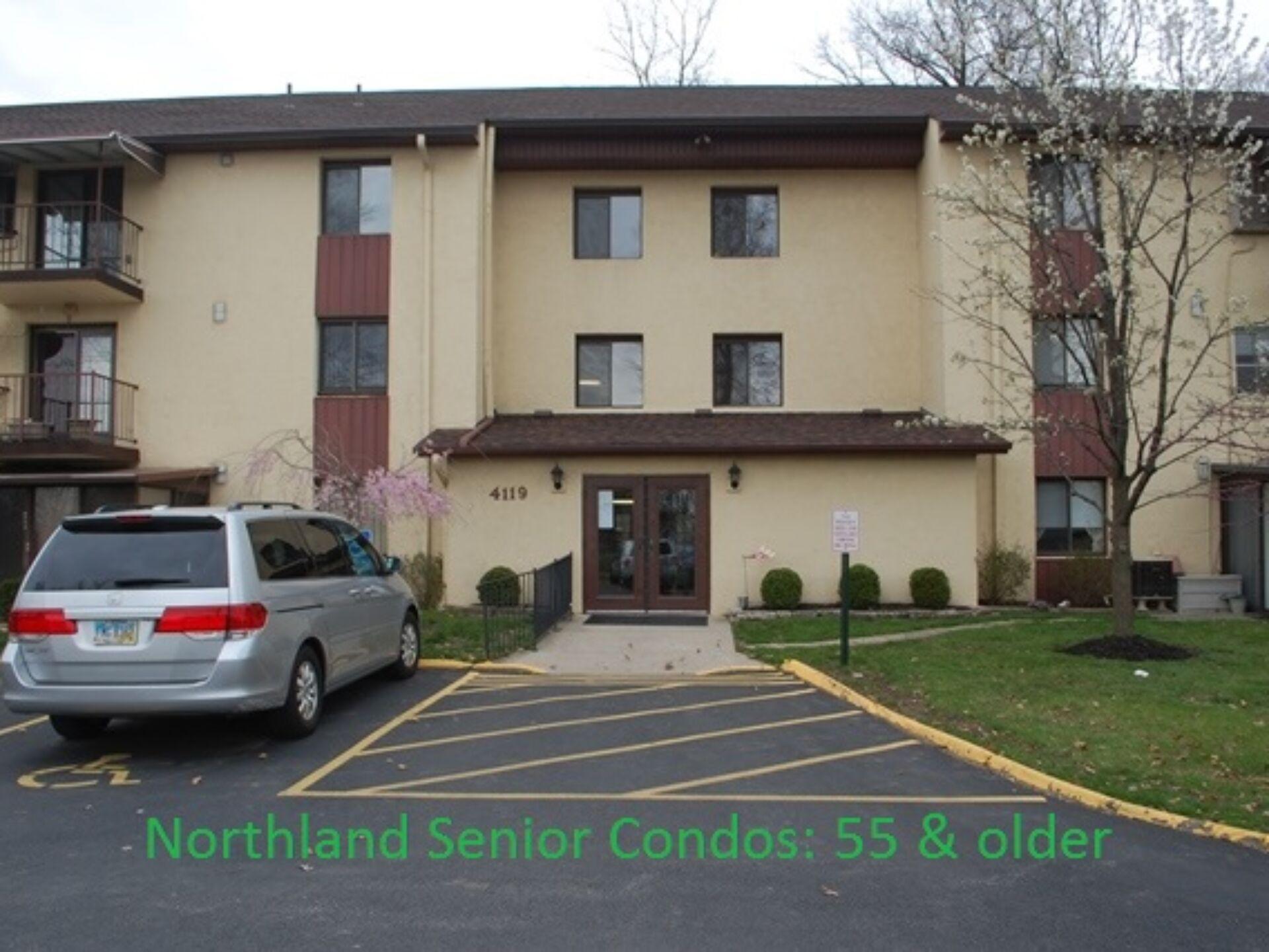 Quiet Living 55 & older 2-bedroom 1-bath Condo