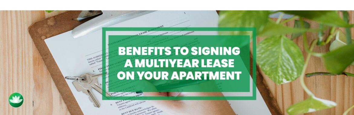 Signing a multiyear lease?