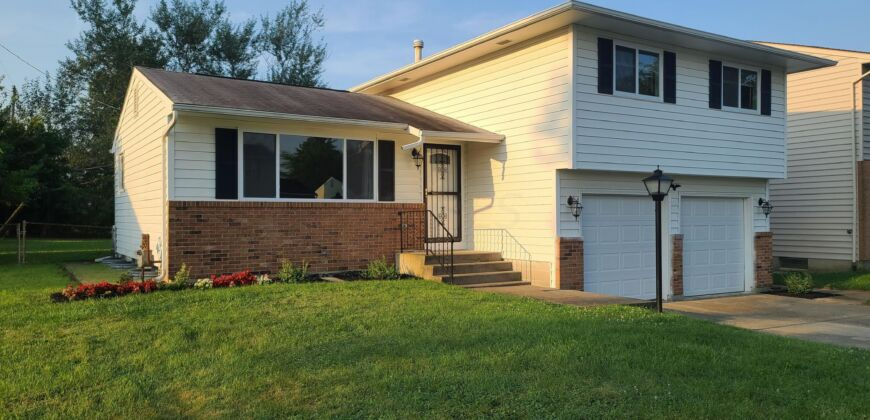 Beautifully updated split-level home